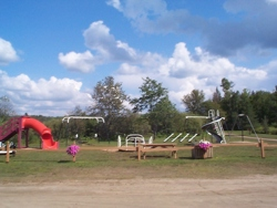 One of Our Two Playgrounds at Homestead Trailer Park.
